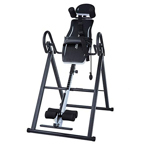 Z ZELUS Gravity Inversion Table, Suspension Stretcher with Back Lumbar and Ankle...
