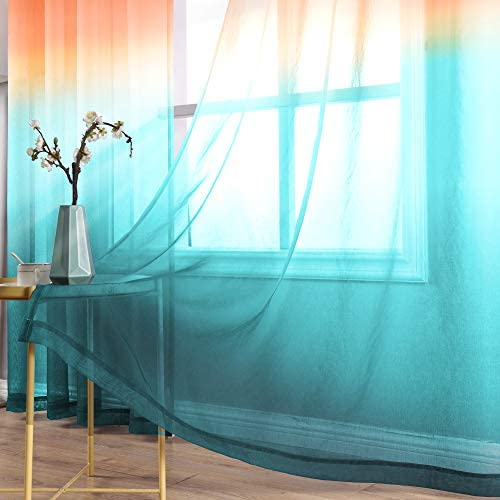 Colorful curtains for living room _image3