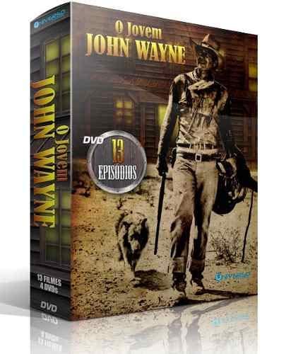 Box O Jovem John Wayne 4 DVDs 13 Episódios