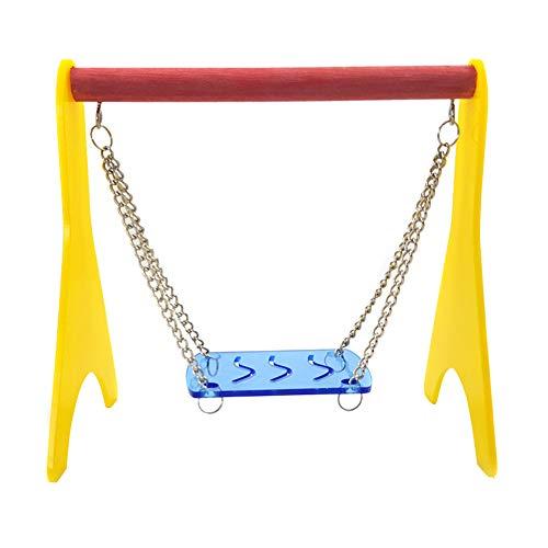 Coomir speelgoed voor vogels, kunststof, hamster, hangmat, elastisch