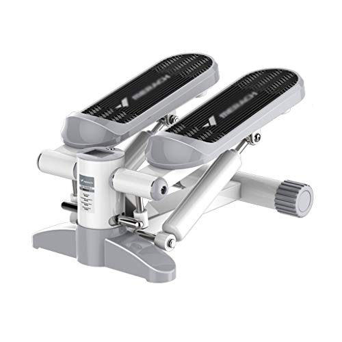 DYW Haushalt Mini Stepper Tragbarer Silent-Stepper Indoor Schaukel Übung Multifunktions Pedal Fitnessgeräte (Color : Gray)