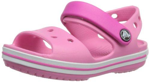 Crocs Crocband Sandal Kids, Sandales Mixte Enfant, Rose (Pink Lemonade/Neon Magenta) 29/30 EU