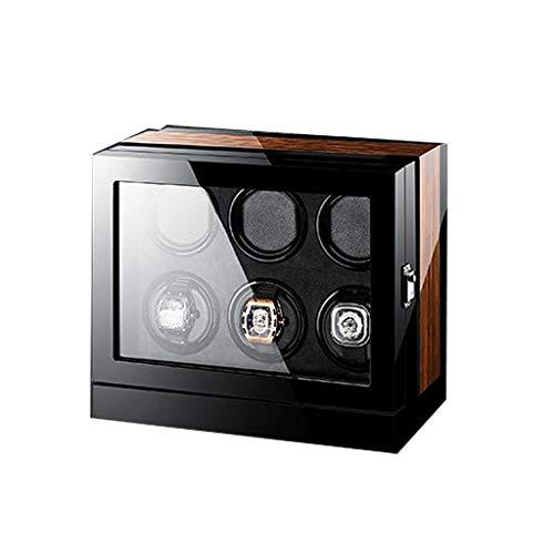 Sunmong Scatola Carica Orologi Automatica Calibro 6, Smart Touch con Interruttore in Senso orario o antiorario Movimento Silenzioso del Motore Si Adatta alla Maggior Parte degli Orologi Meccanici 6