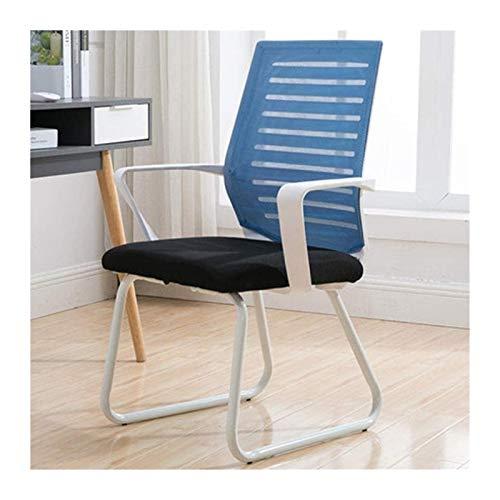 YONGYONGCHONG Bürostuhl Ergonomischer Bürostuhl Verstellbarer Netzstuhl Büroschreibtisch Stuhl Computer Taskstuhl (Color : Blue)
