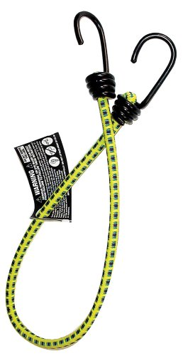 "Keeper 06025 24"" Bungee Cord with Coated Hooks"