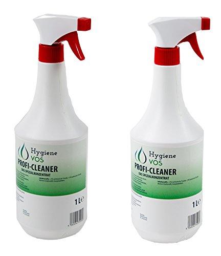 Profi Cleaner VOS-Spezialkonzentrat 2 x 1 Liter Sprühflasche