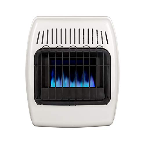 Dyna-Glo 10,000 BTU Natural Gas Blue Flame Vent Free Wall Heater, White