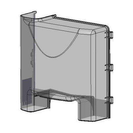 CubetasGastronorm -  Rivestimento anteriore per Zumex Versatile Essential Pro, mod. S3300930:01