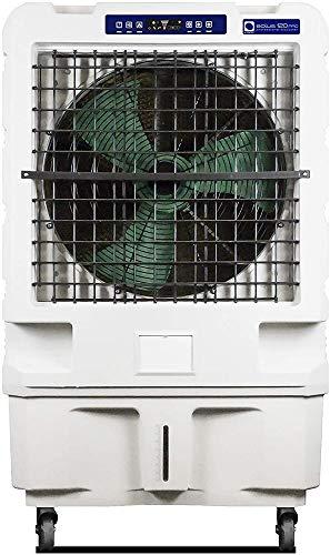 M Confort Eolus 120 - Pro Climatizador Evaporativo Portátil, 450 W, 150 m², 3 Velocidades, Máximo Caudal 12000M³/H, Ventilador Axial, 135 x 83 x 57 cm