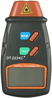 Ballylelly Digital Laser Foto Tachometer nicht Kontakt Drehzahl Tachometer Digital Laser Tachometer Geschwindigkeitsmesser Geschwindigkeits Messgerät Maschine