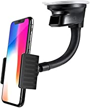 Premium Car Mount Dashboard Windshield Holder Window Rotating Dock Stand [Strong Grip Gooseneck] for Sprint iPhone XS Max - Sprint Essential Phone (PH-1) - Sprint HTC 10 - Sprint HTC Bolt