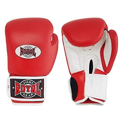 ROYAL FIGHT GEAR Guantes de boxeo de cuero genuino de TWS St