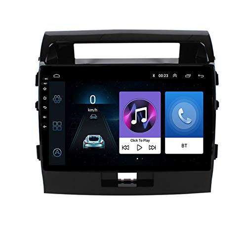 DMMASH Android Car Stereo GPS Navigation Radio Player for Toyota Land Cruiser 2007-2012 2 Din 9'' Touch Screen Bluetooth WIFI FM Mirror Link USB,4 cores 4G+WIFI:2+32G