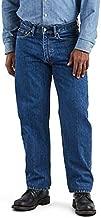 Levi's Men's 550 Relaxed Fit Jeans, Dark Stonewash, 40W x 32L