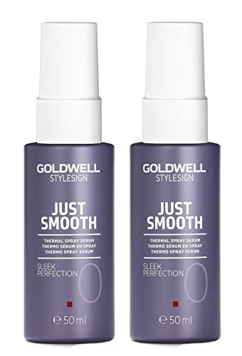 2er Thermal Serum Spray Sleek Perfection Just Smooth Stylesign Goldwell gegen Haarbruch 50 ml