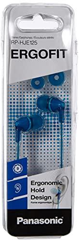Panasonic RP-HJE125E-A Auriculares Boton con Cable In-Ear (Headphone...