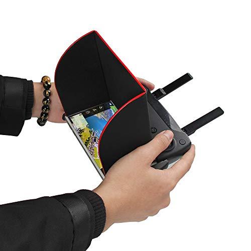 Alikeey camera-accessoires, zonnescherm met hood, 5,5 inch telefoons op de afstandsbediening voor DJI Mavic 2