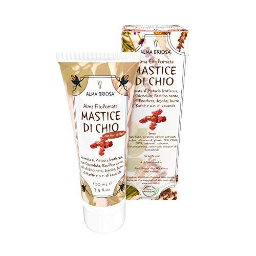 FitoPomata Mastice di Chio - Alma Briosa - pomata disarrossante, lenitiva, cicatrizzante - 100 ml