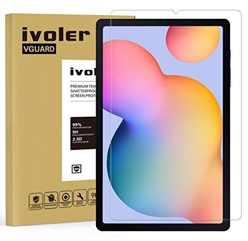iVoler Pellicola Vetro Temperato per Samsung Galaxy Tab S6 Lite (SM-P610 / SM-P615), Pellicola Protettiva Protezione per Schermo per Samsung Galaxy Tab S6 Lite