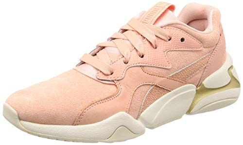 PUMA Nova Pastel Grunge Wn's, Sneakers Basses Femme, Rose (Peach Bud-Peach Bud 03), 39 EU