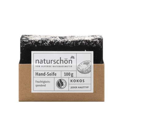 alverde NATURKOSMETIK Stückseife naturschön, 100 g (Kokos)