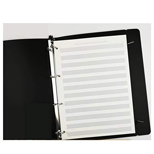 Cuadernos Partituras en blanco del cuaderno manuscrito de la música de papel,...
