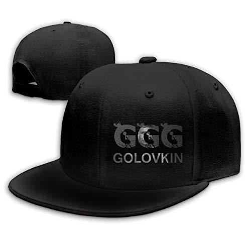 Ooiilpe Men&Women Baseball Hat Gennady Golovkin GGG Baseball Cap Black