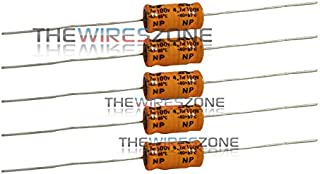 Non-Polarized Electrolytic Audio Capacitor 4.7MFD 4.7uF 8mm x 16mm 100V (5/Pack)