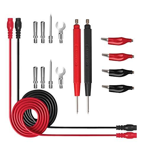LKK-KK 16pcs potenciales de prueba del multímetro Prueba de Sensor Kit de prueba Reemplazar Alambres Las sondas for multímetro digital clips T Tipo de sonda