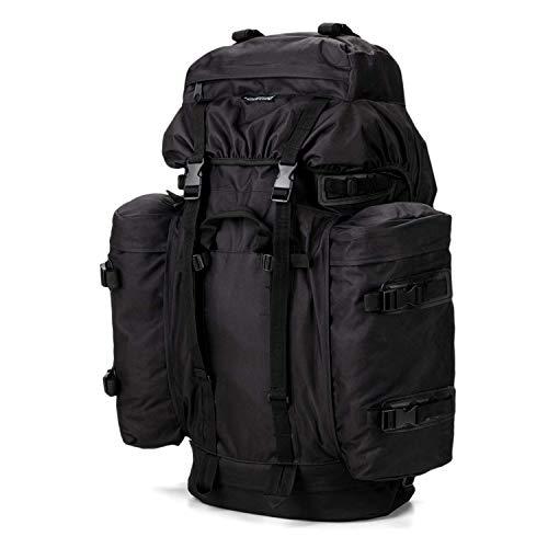 Commando Industries Army Mountain - Mochila de senderismo (100 L), Negro ,...