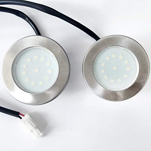 2er Set - VIESTA X15 LED Ersatzlampe 1,5W für Dunstabzugshaube DHX-Serie mit Kabel, LED-Strahler & Beleuchtung