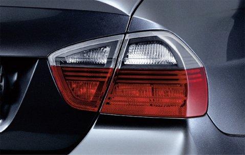 Original BMW Heckleuchten Rückleuchten Black Line 3er Limousine E90