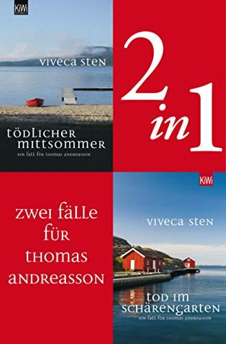 Zwei Fälle für Thomas Andreasson (2in1-Bundle): Tödlicher Mittsommer – Tod im Schärengarten (Thomas Andreasson ermittelt)