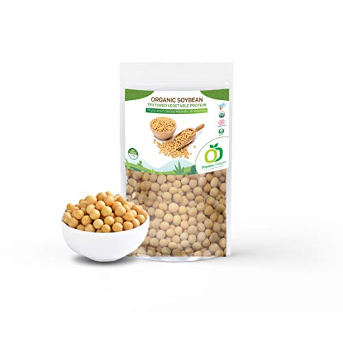 Organic Delight All Natural High Protein Organic Soyabean (1kg)