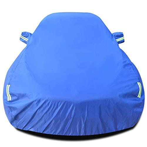 JLZS-Car Covers Couverture de Voiture Convient pour Subaru Impreza Vêtements Toute l'année Couverture de Voiture Écran Solaire Pluie Oxford Tissu Givre-Preuve Épais Hiver (Couleur : Bleu)