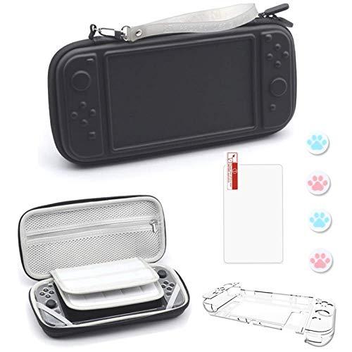 AOUVIK Estuche, Consola y Accesorios para Sistema de Viaje con 20 Cartuchos de Juegos, Bolsa Protectora para Consola de interruptores Joy-con