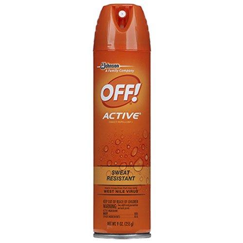 Off! 22937 Active Aerosol Insect Repellent, 9oz