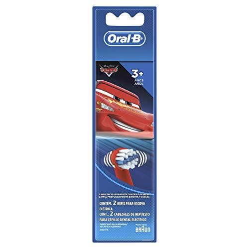 Refil para Escova Elétrica Oral-B Disney Pixar Cars - 2 Unidades