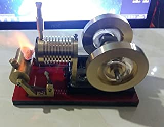 Sunnytech Hot Air Flame Licker Stirling Engine Motor Model Education Toy Electricity TZ (TZ03G)