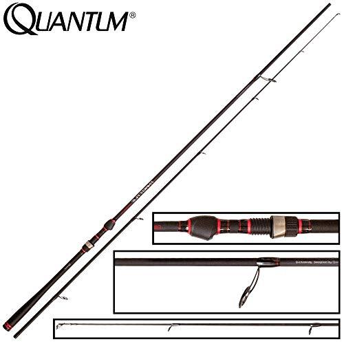 Quantum Unisex– Erwachsene Throttle Zander Jig, schwarz,rot, 2,65 m