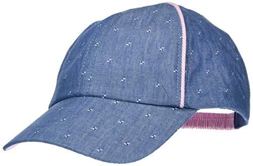maximo Mädchen Cap Kappe, Blau (Denim/Mandelblüte 4023), (Herstellergröße: 51/53)