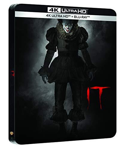 Ça [4K Ultra Blu-Ray + Digital HD-Édition boîtier SteelBook]
