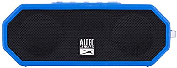 Altec Lansing IMW449 Jacket H2O 4 Rugged Floating Ultra Portable Bluetooth Waterproof Speaker with up to 10 Hours of Battery Lif