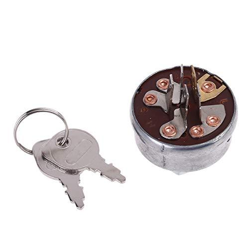 Interruptor de encendido para tractor cortacésped con llaves para Husqvarna-Roper Toro Noma Scag