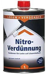 FLT 1277 Nitroverdünnung für die Lackierpistolen Reinigung