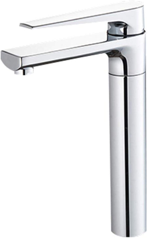 Fanxu Bad Wasserhahn Waschbecken Wasserhahn Einhand-Einloch-Waschtischmischer