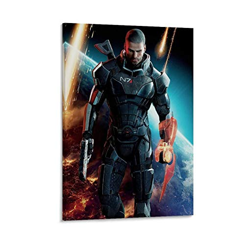 GHRF Mass Effect - Póster decorativo (60 x 90 cm)