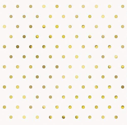 Unique Party 72572 Papierservietten, gold