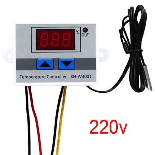 Control de termostato del controlador de temperatura digital de la incubadora con sonda de interruptor(240v)
