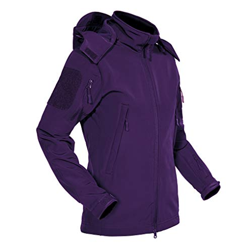 Ski Jacket Women Waterproof Jacket Women Warm Softshell Skiing Jackets Fleece Jackets For Women Winter Snow Jackets For Women Climbing Coats Tactical Jackets